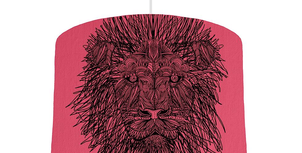 Lion Shade - Cerise Fabric
