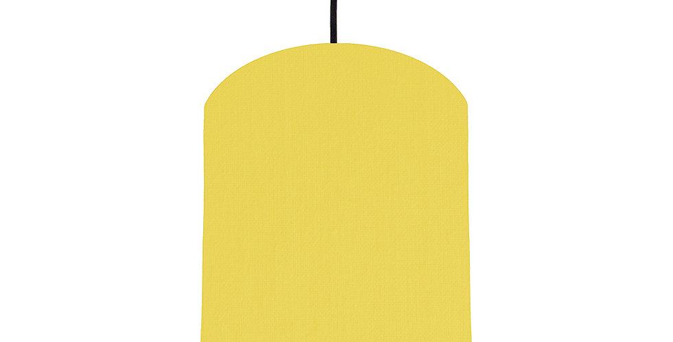 Lemon & Pink Lampshade - 20cm Wide