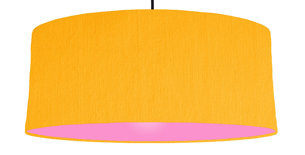 Sunshine & Pink Lampshade - 70cm Wide