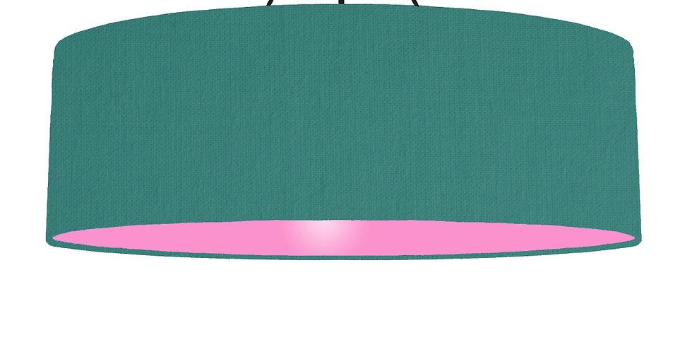 Jade & Pink Lampshade - 100cm Wide