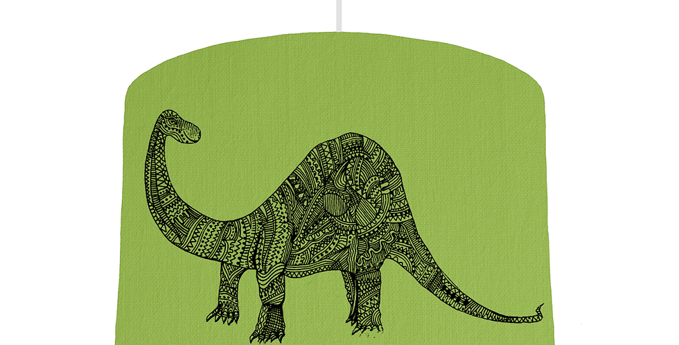 Dinosaur Shade - Pistachio Fabric