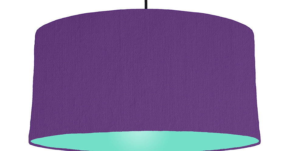 Violet & Mint Lampshade - 60cm Wide