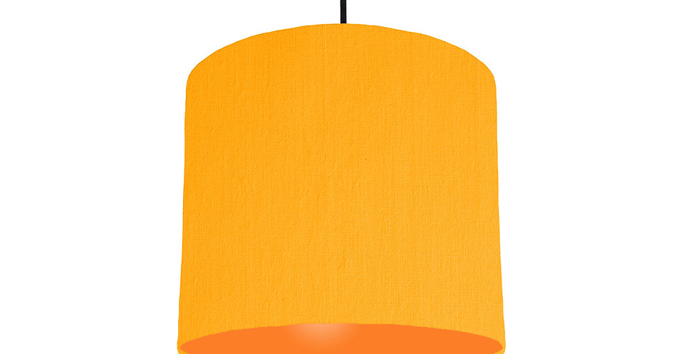 Sunshine & Orange Lampshade - 25cm Wide
