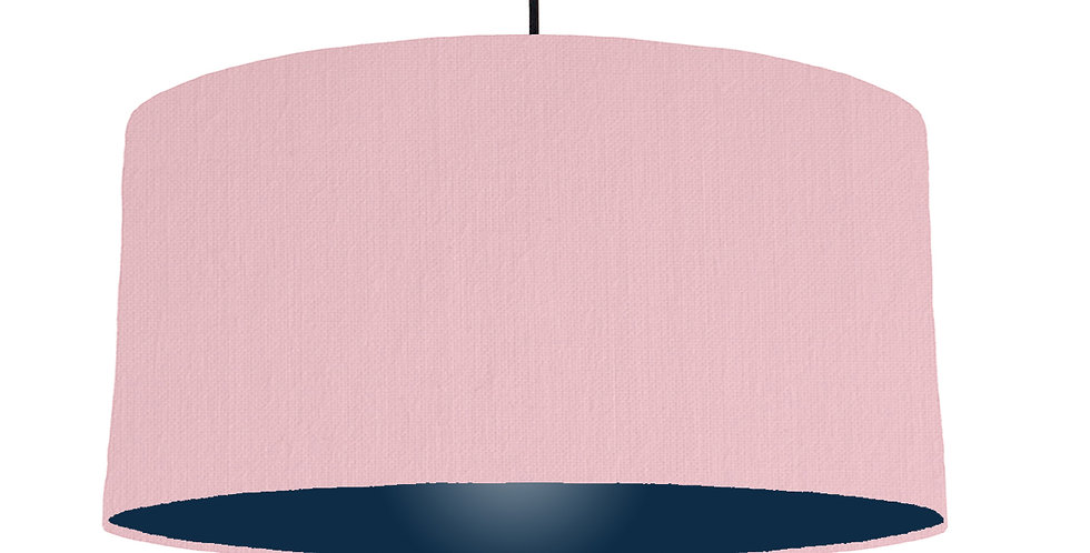 Pink & Navy Lampshade - 60cm Wide