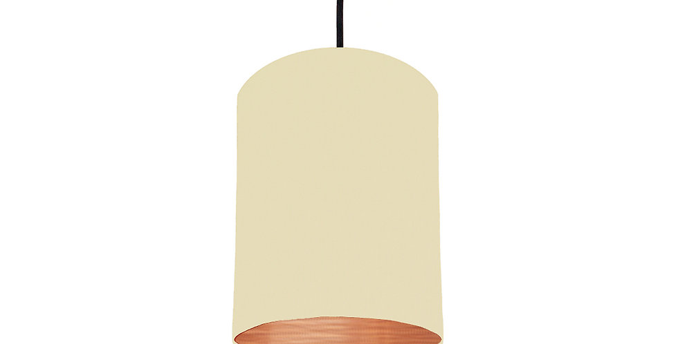 Natural & Brushed Copper Lampshade - 15cm Wide