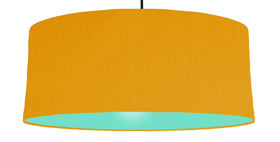 Mustard & Mint Lampshade - 70cm Wide