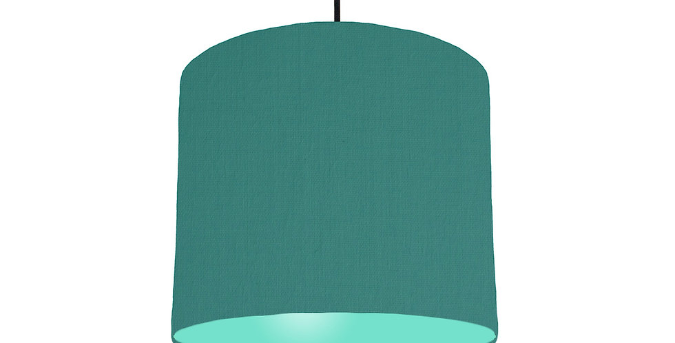 Jade & Mint Lampshade - 25cm Wide