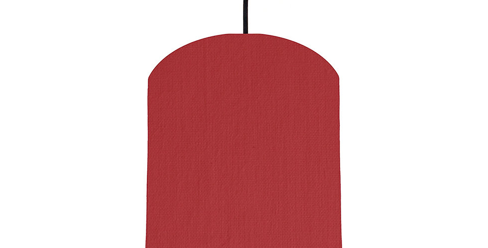 Red & Lime Green Lampshade - 20cm Wide