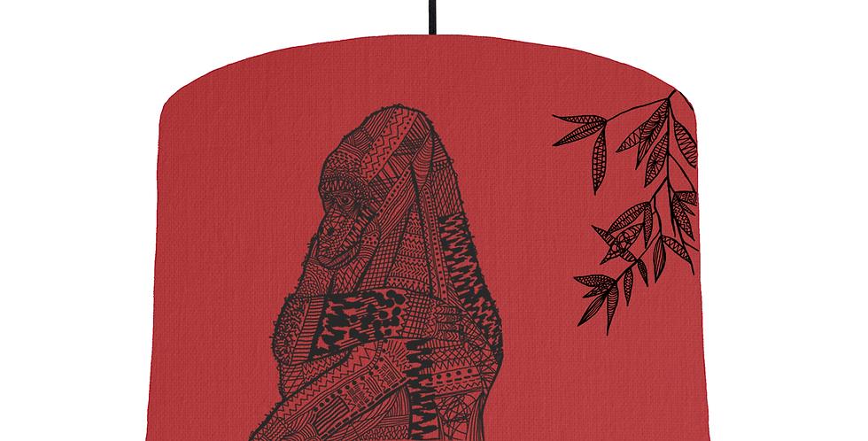 Gorilla - Red Fabric