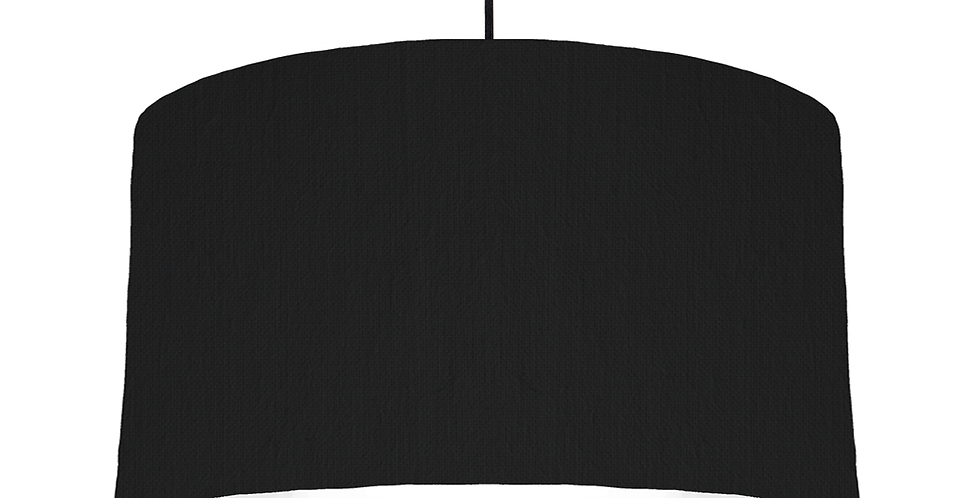 Black & White Lampshade - 50cm Wide