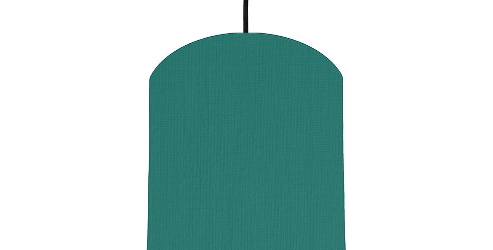 Jade & Forest Green Lampshade - 20cm Wide