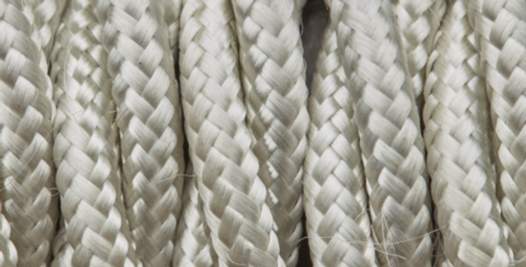 Cream - Industville Twisted Fabric Cable