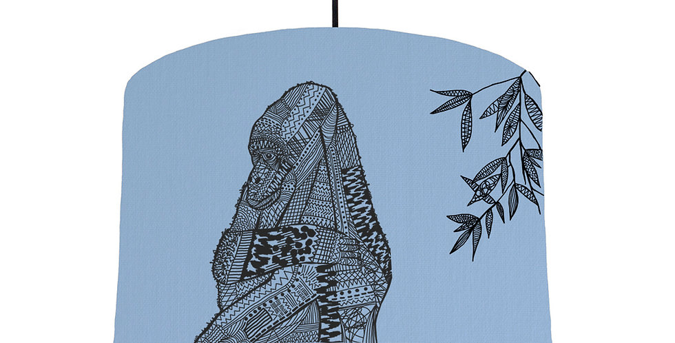 Gorilla - Sky Blue Fabric