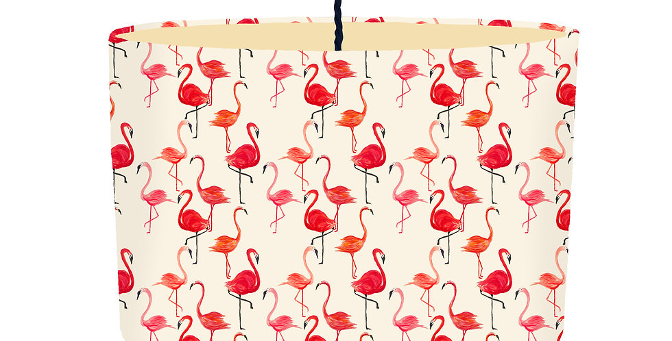 Flamingo Lampshade - Colour Lining