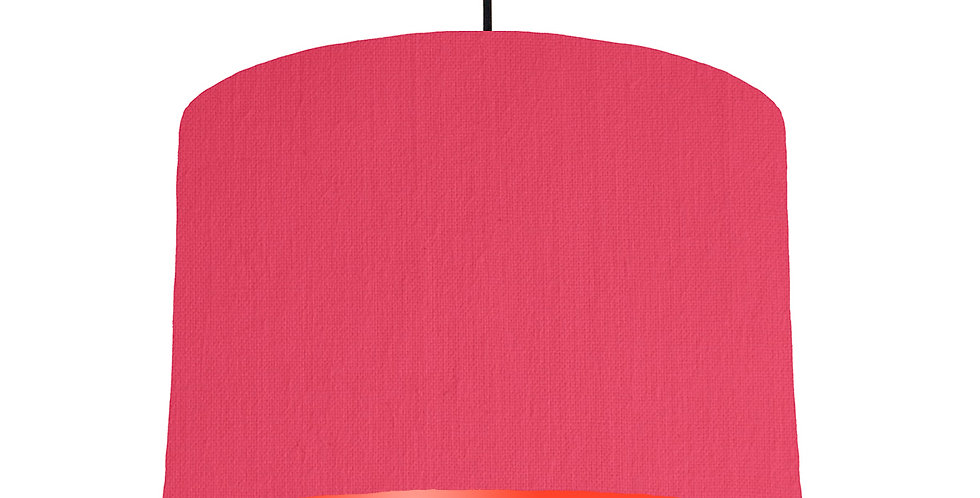 Cerise & Poppy Red Lampshade - 30cm Wide