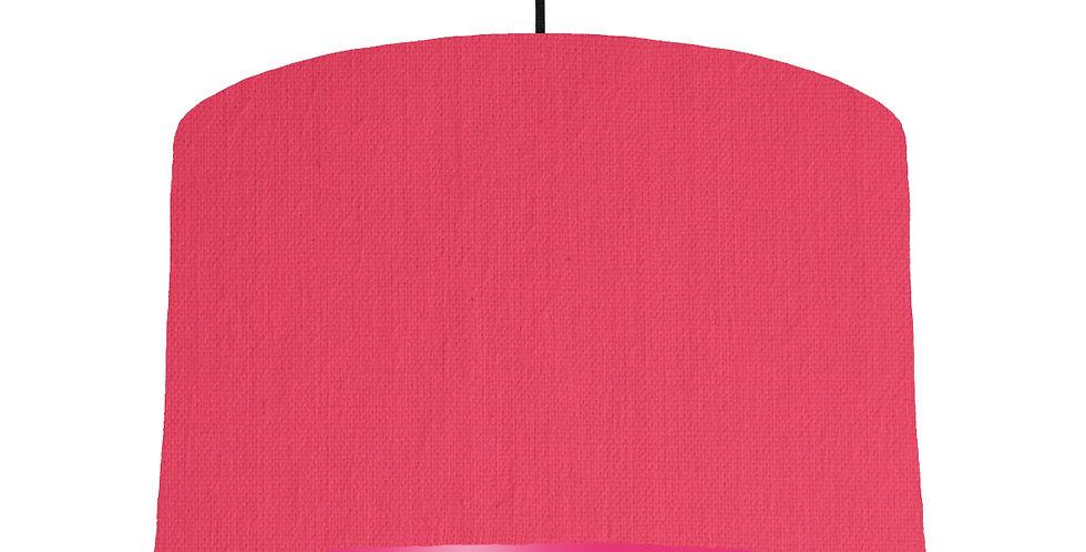 Cerise & Magenta Lampshade - 40cm Wide
