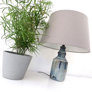 Handmade lamp base