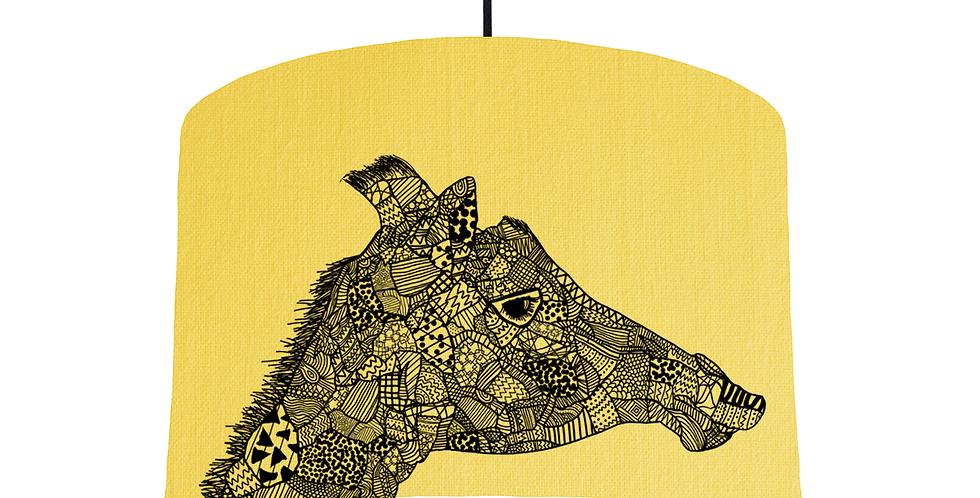 Giraffe - Lemon Fabric