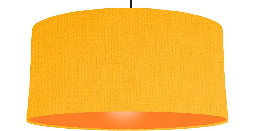 Sunshine & Orange Lampshade - 60cm Wide