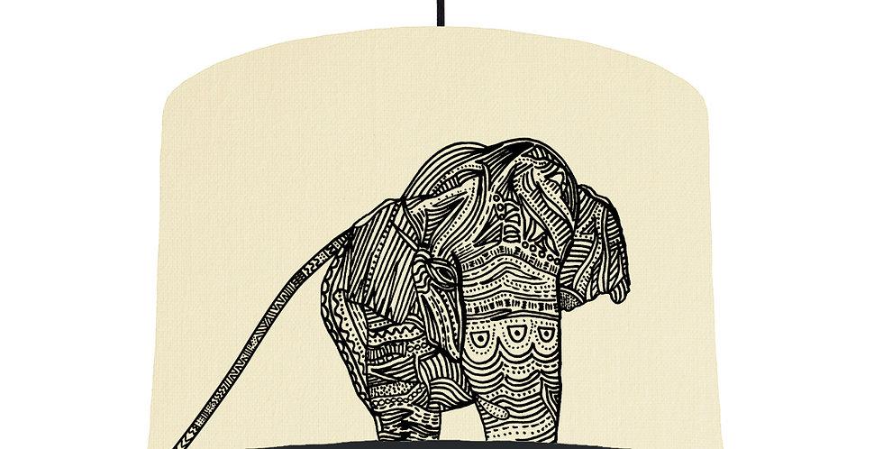Elephant - Natural & Black