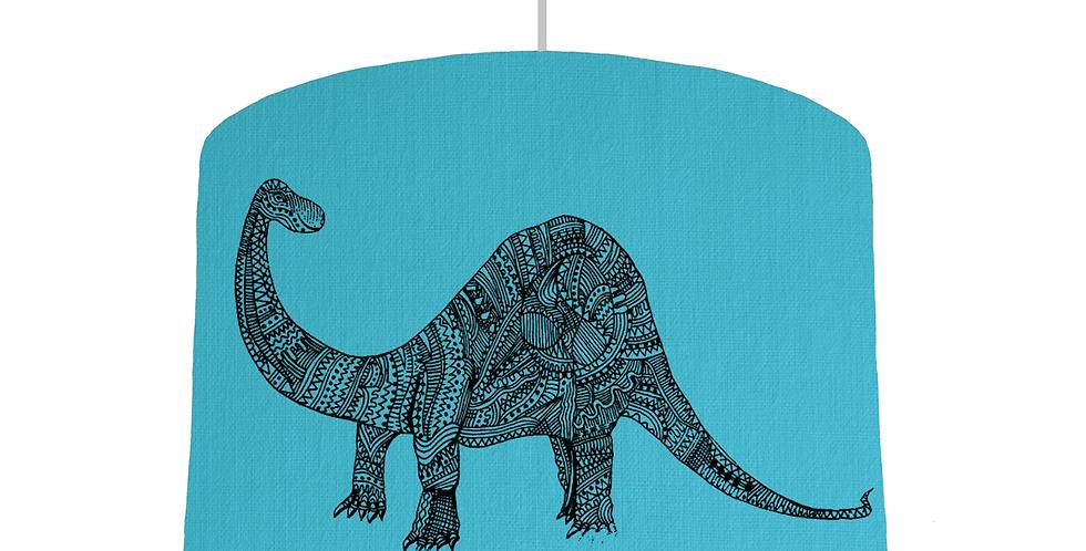 Dinosaur Shade - Turquoise Fabric