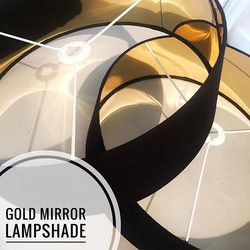 Black & Gold Lampshade