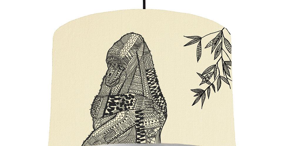 Gorilla - Natural & Brushed Silver