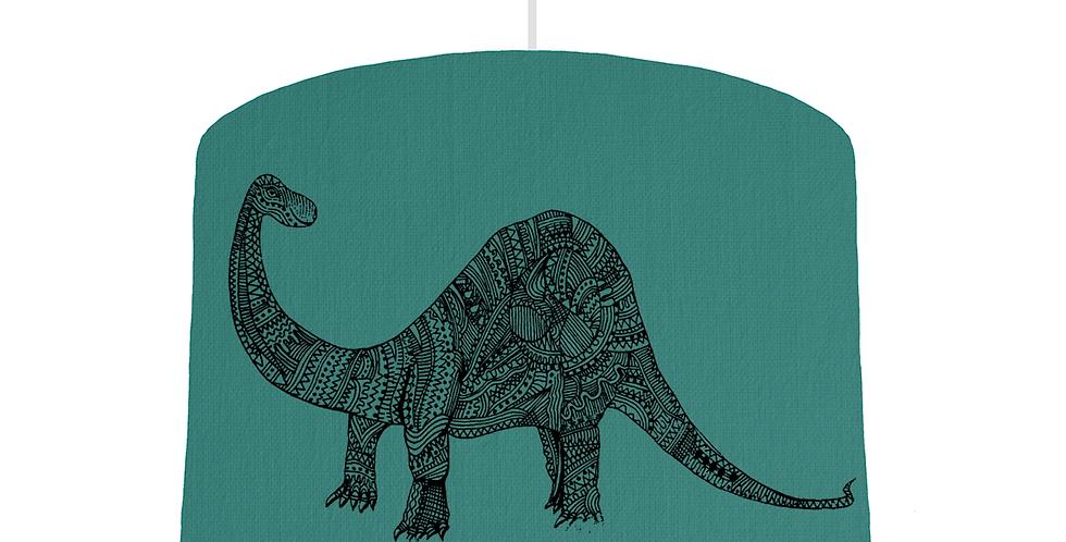 Dinosaur Shade - Jade Fabric