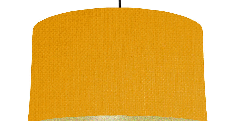 Mustard & Gold Lampshade - 50cm Wide