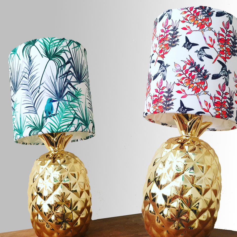 pattern printed lampshades