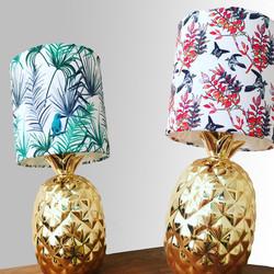 pattern printed lampshades