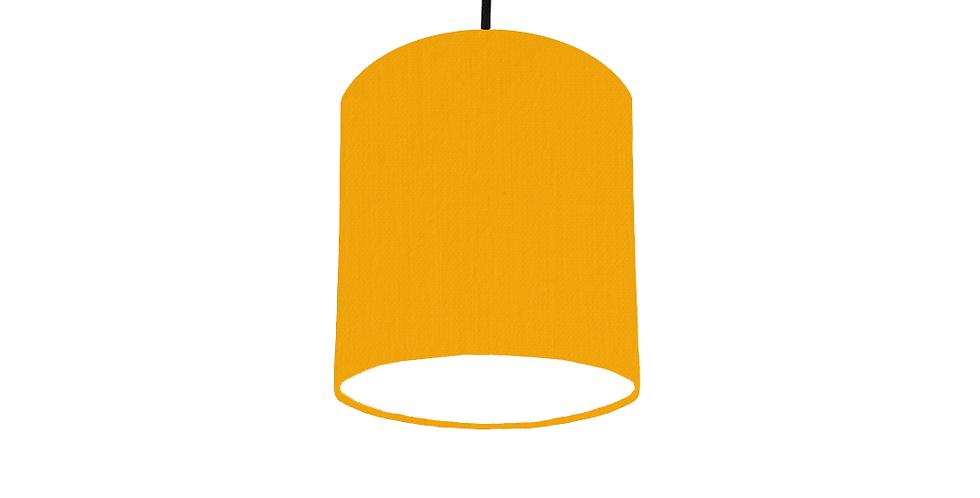 Sunshine & White Lampshade - 15cm Wide