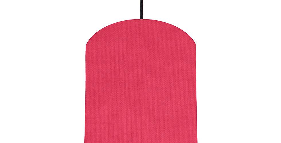 Cerise & Magenta Lampshade - 20cm Wide