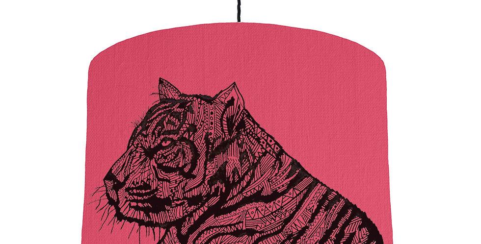 Tiger Shade - Cerise Fabric