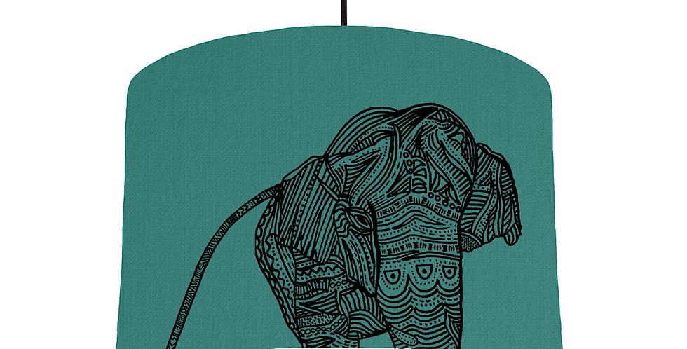 Elephant - Jade Fabric