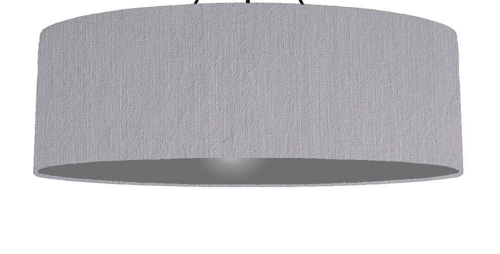 Light Grey & Dark Grey Lampshade - 100cm Wide