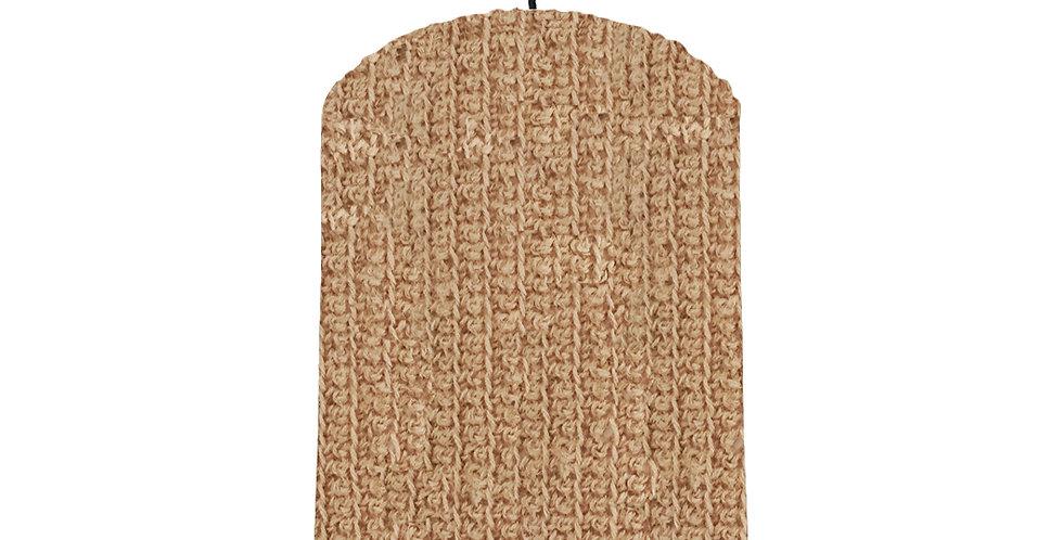 Twine Crochet Lampshade - 20cm wide