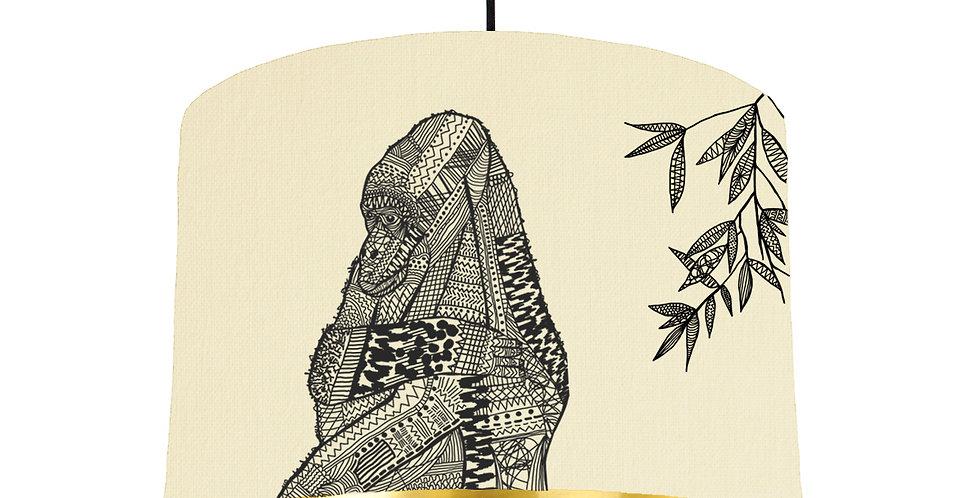 Gorilla - Natural & Gold Mirror