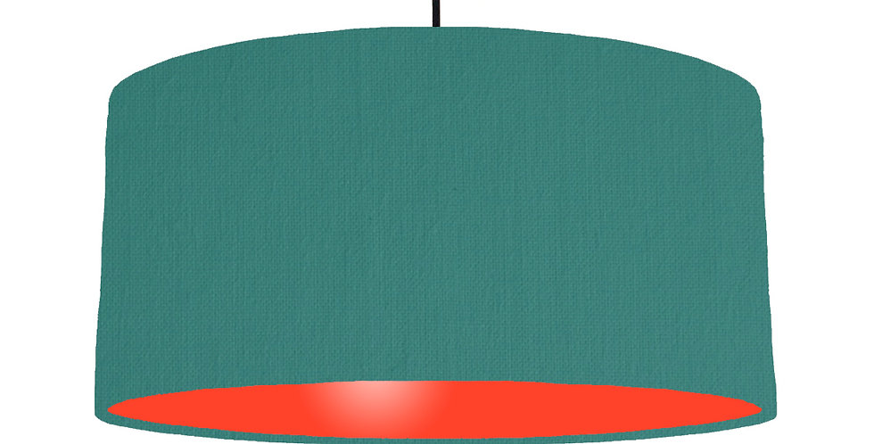 Jade & Poppy Red Lampshade - 60cm Wide