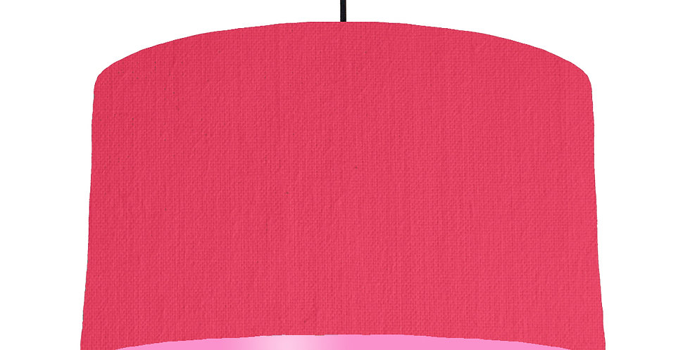 Cerise & Pink Lampshade - 50cm Wide