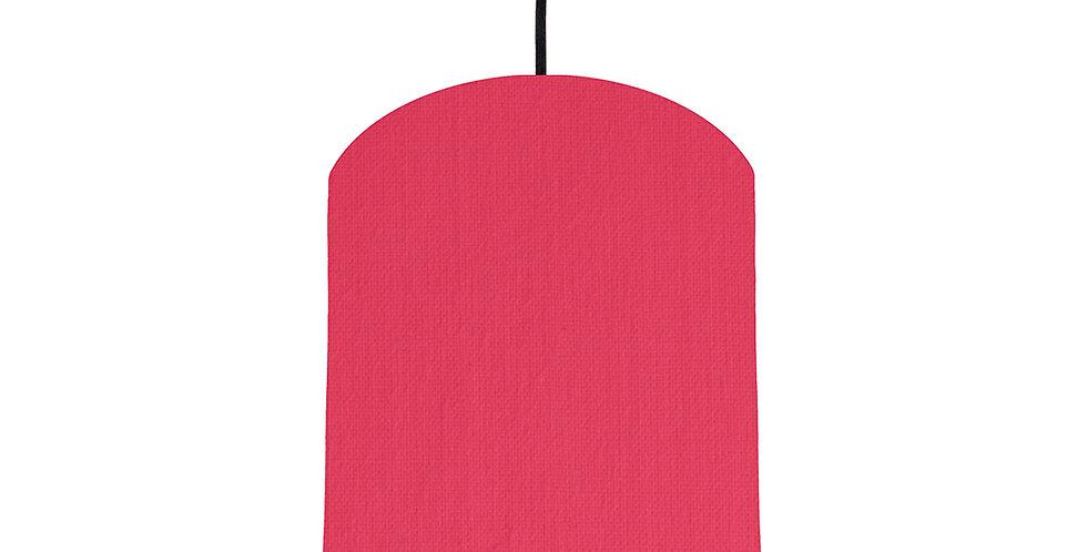 Cerise & Orange Lampshade - 20cm Wide