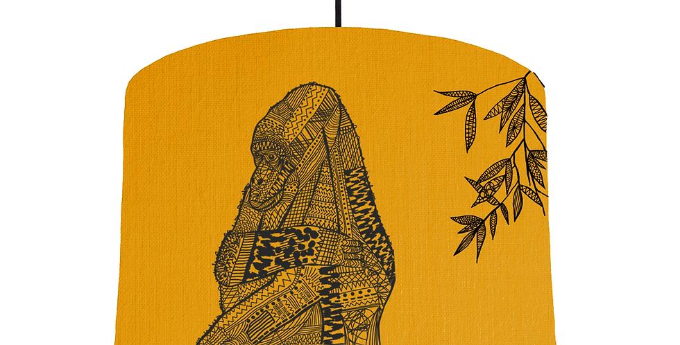 Gorilla - Mustard Fabric