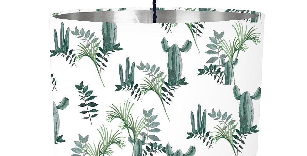 Cactus Lampshade - Metallic Lining