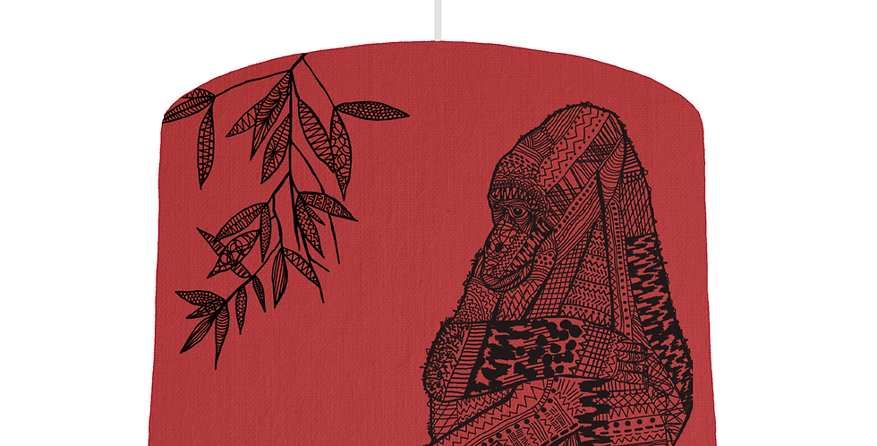 Gorilla Shade - Red Fabric