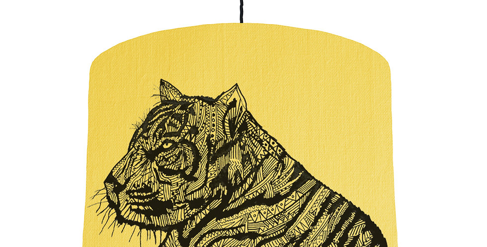 Tiger Shade - Lemon Fabric