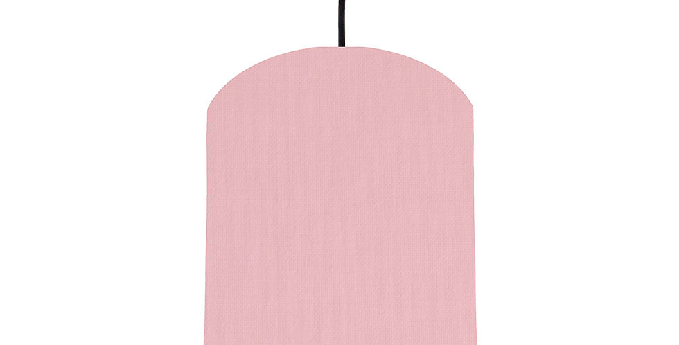 Pink & Pink Lampshade - 20cm Wide