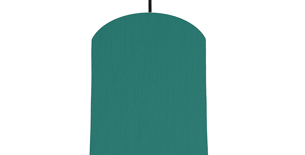 Jade & White Lampshade - 20cm Wide