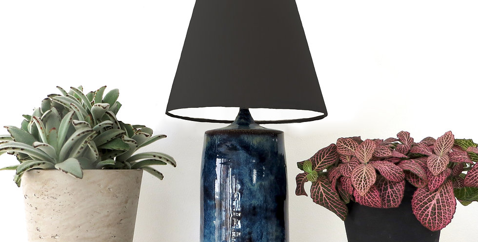 Conical Lampshade (10Tx20Bx20H) - White lining