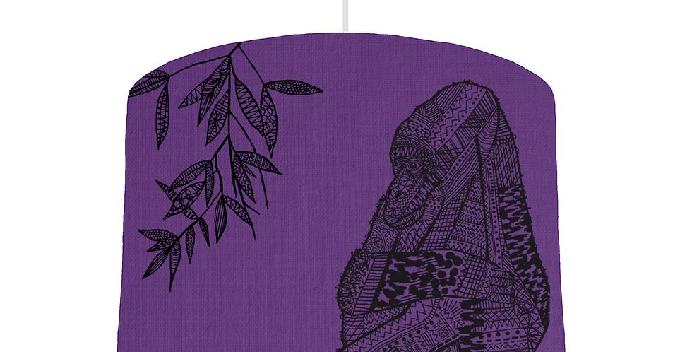 Gorilla Shade - Violet Fabric