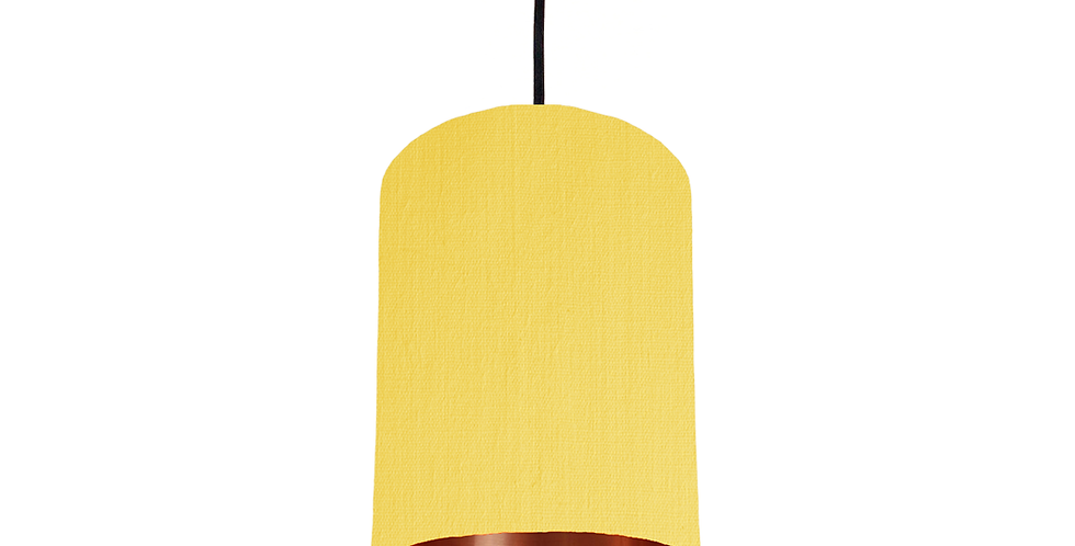 Lemon & Copper Mirrored Lampshade - 15cm Wide